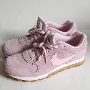 Nike women's sneakers suede leather
